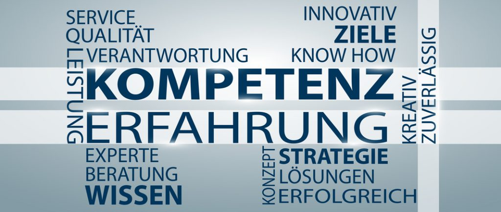 Kompetenz und Erfahrung