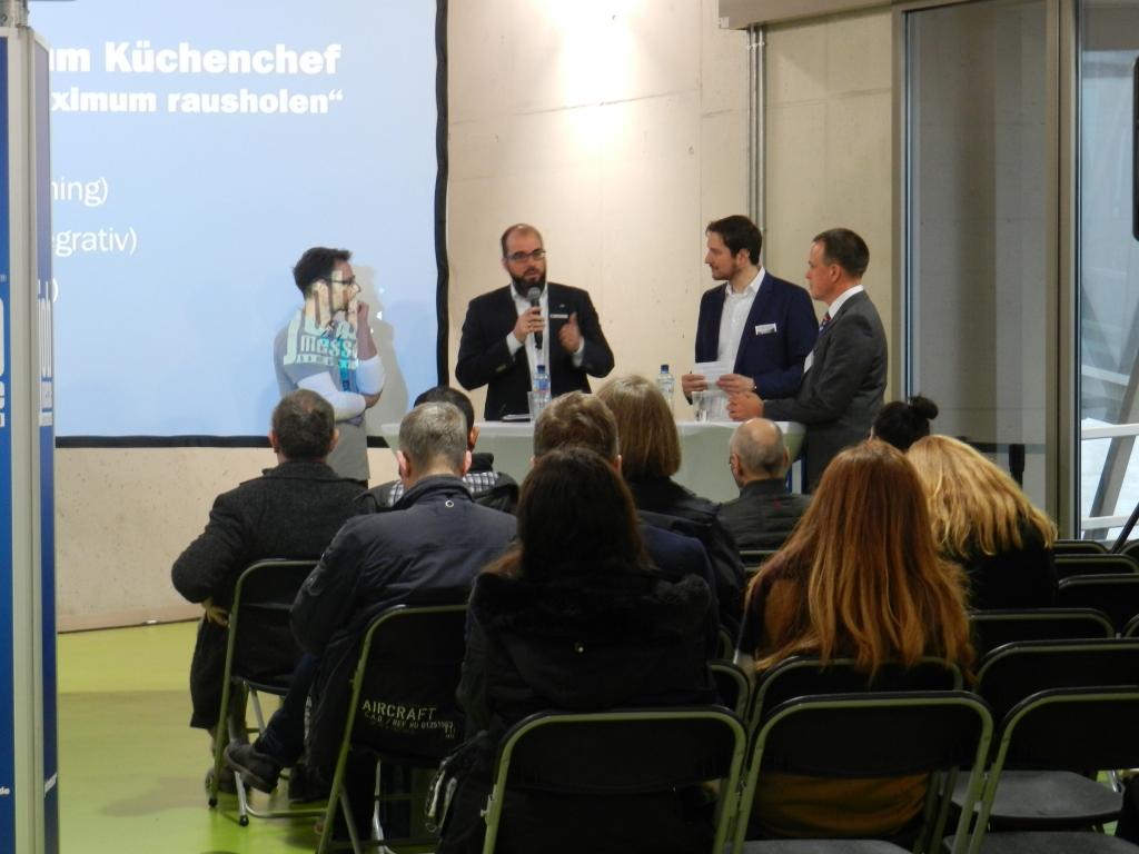 Podiumsdiskussion Jobmesse Hamburg COATRAIN
