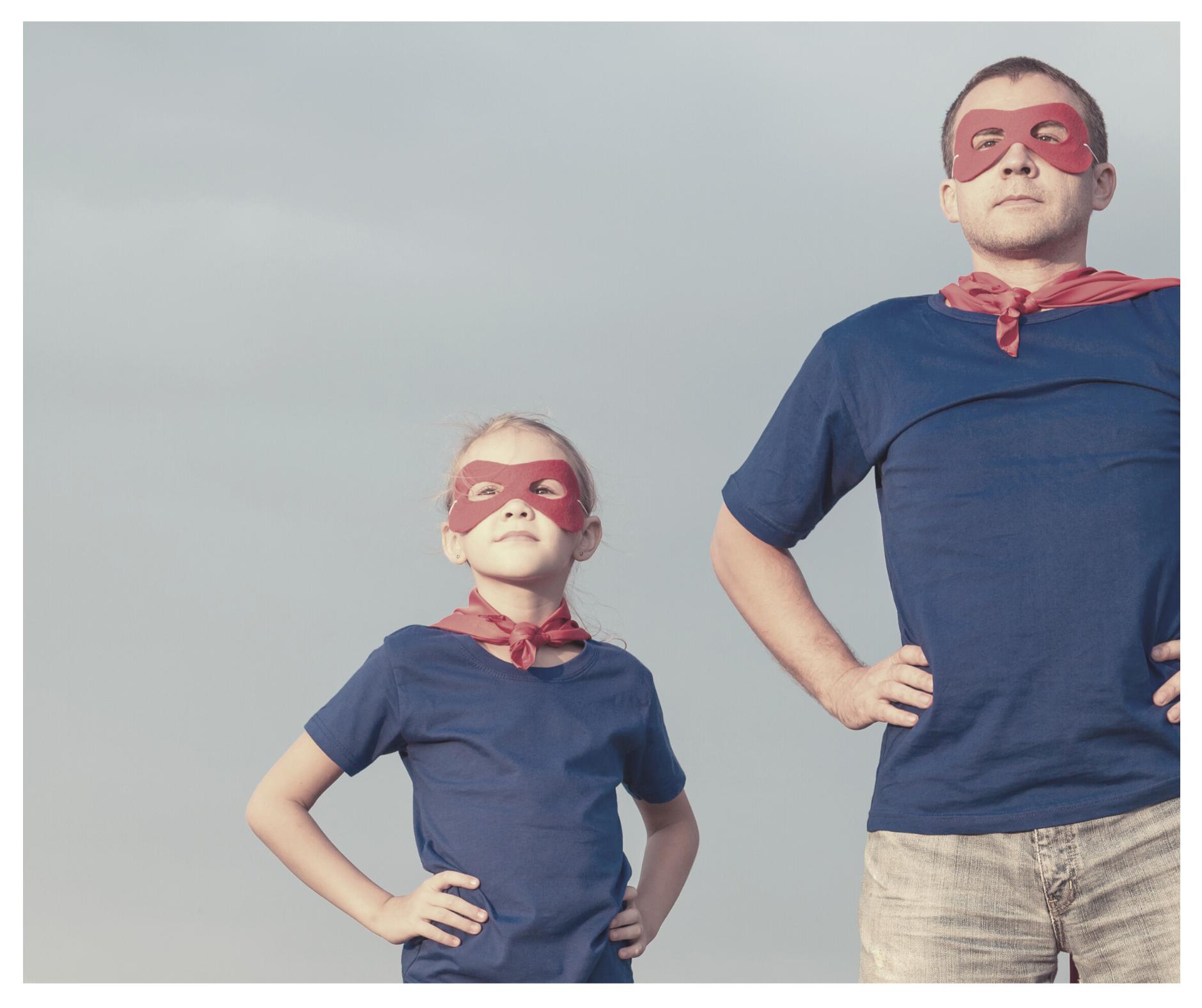 Moderne Väter müssen keine Superhelden sein